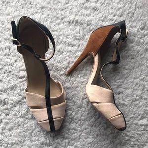 Zara Basic T-Strap Stiletto heels